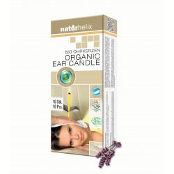 Naturhelix BIO Ohrkerzen Lavendel 2er Pack