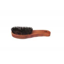 Haarpflegebürste ergonomischer Griff Handeinzug